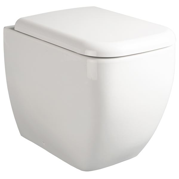 SanCeram Marden back to wall toilet pan