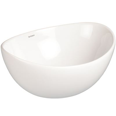 SanCeram Langley vessel basin – ideal washroom sanitaryware for leisure, residential, healthcare