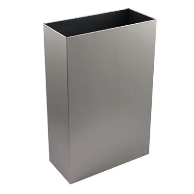 Stainless Steel floor standing 30ltr waste bin