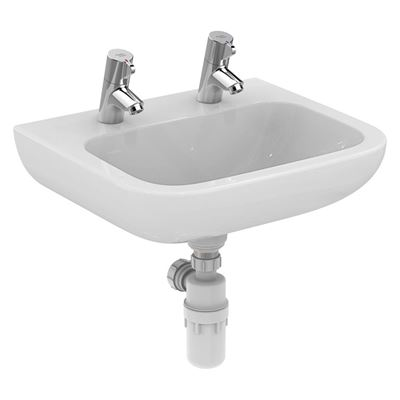 Armitage Shanks Portman 21 500 wash basin with two tapholes