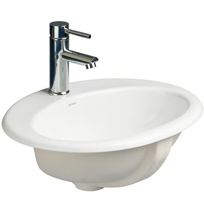 SanCeram Chartham 530 oval countertop basin/worktop sink