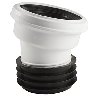 Toilet pan connector
