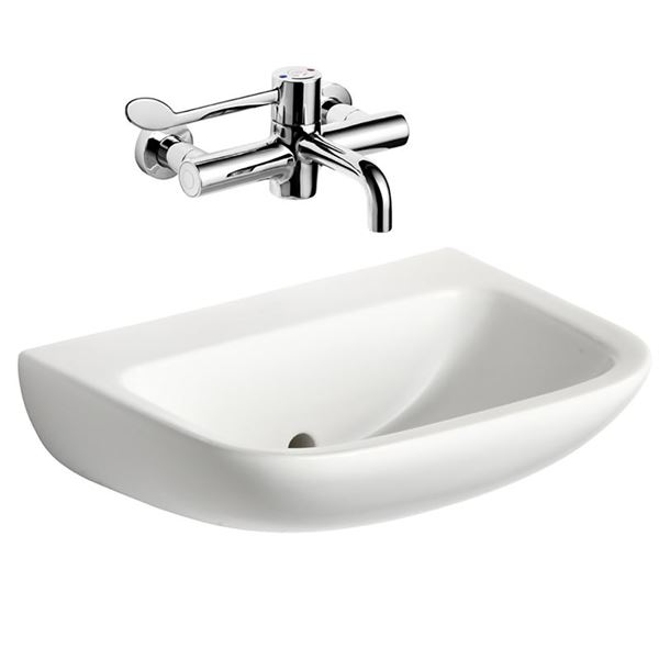 Armitage Shanks Contour 21 washbasin 500mm wall hung