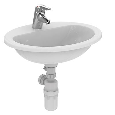 Armitage Shanks Orbit 21 550 bathroom countertop basin – ideal as commercial or school sanitary ware