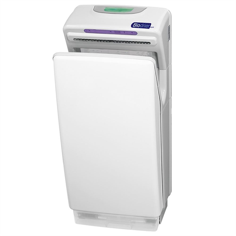 Automatic Jet Hand Dryer White The Sanitaryware Company