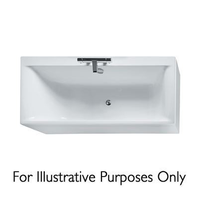 Ideal Standard Concept 1700 x 750mm no tap hole bath