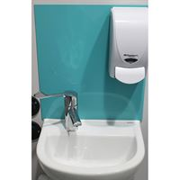 SanCeram Chartham 380 wash basin with left hand taphole at Leventhorpe Academy