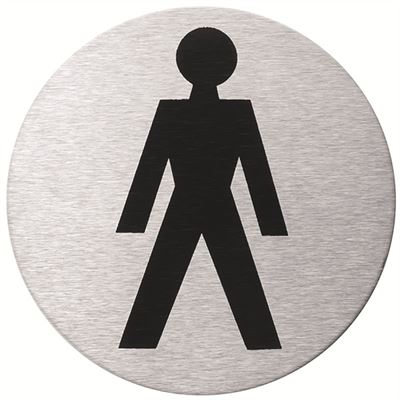 Male WC door sign