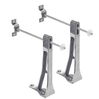 Wall hung toilet brackets – support fixings for Ideal Standard and Armitage Shanks wall hung WC