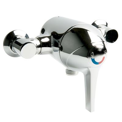 SanCeram sequential lever operated exposed shower valve