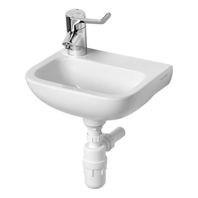Armitage Shanks Contour 21 370 wash basin with left hand taphole