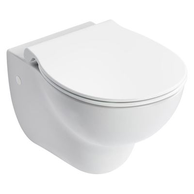 Armitage Shanks Contour 21 rimless wall hung WC pan