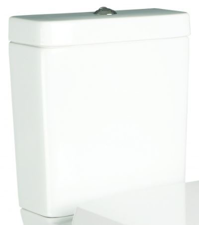 SanCeram Langley exposed ceramic toilet cistern for use with close coupled Langley WC pan