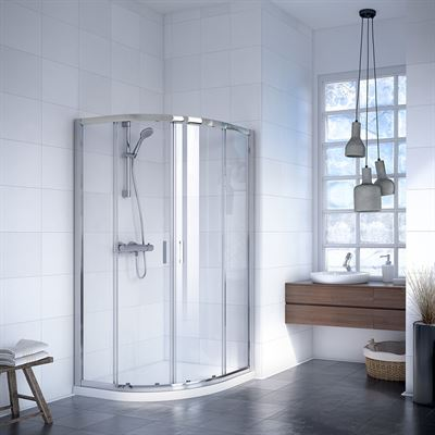 SanCeram 2 door off-set quadrant shower enclosure