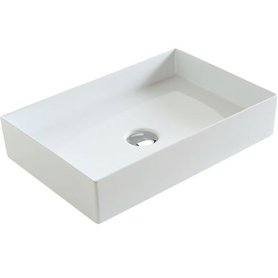 SanCeram Hartley rectangular vessel basin