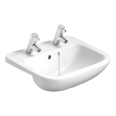 Armitage Shanks Profile 21 500 wash basin with two tap holes