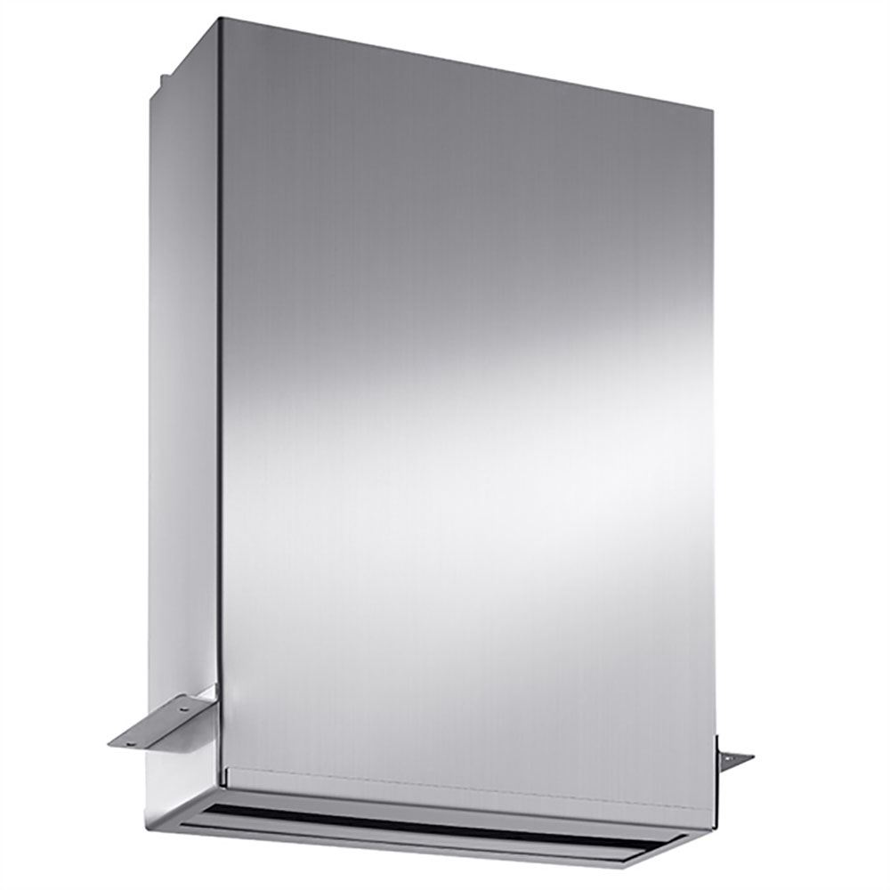 Behind Mirror Paper Towel Dispenser Stainless Steel The