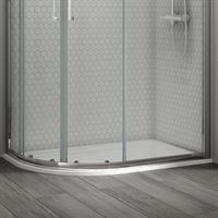 SanCeram Quadrant shower tray